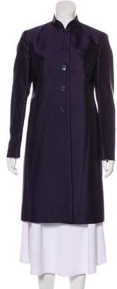 Prada Lightweight Knee-Length Coat