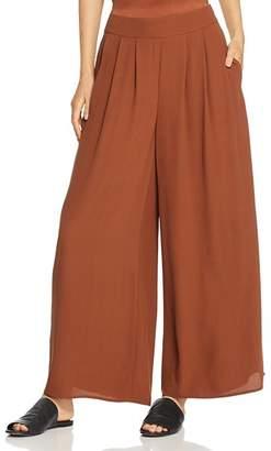 Eileen Fisher Wide-Leg Silk Pants