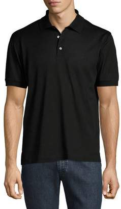 Brioni Cotton Pique Polo Shirt