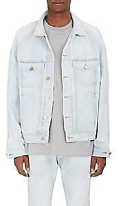 Fear Of God Men's Denim Trucker Jacket-Blue Size Xl