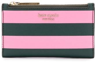 Kate Spade stripe card holder