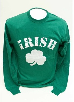 Donegal Bay Irish Green Long Sleeve T-Shirt-XXXL