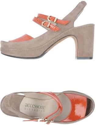 accessoire DIFFUSION Platform sandals
