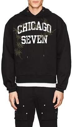 "Oamc Men's ""Chicago Seven"" Cotton Hoodie"