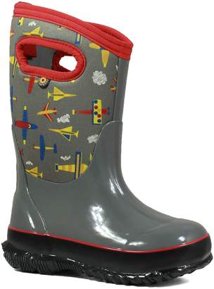 Bogs Classic Planes Insulated Waterproof Rain Boot