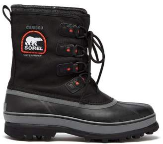 Sorel Caribou Xt Canvas Snow Boots - Mens - Black