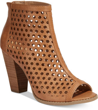 Report Ronan Perforated Booties $59 thestylecure.com