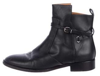 Balenciaga Leather Ankle Boots Black Leather Ankle Boots
