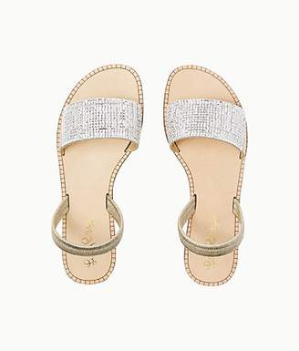 Lilly Pulitzer Amelia Crystal Sandal