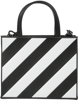 Off-White Off White Diagonal Stripe Tote