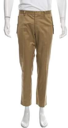 Belstaff Flat Front Slim Pants