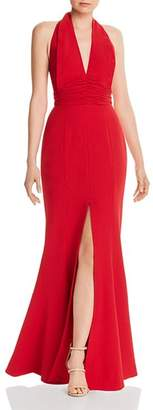 C/Meo Collective Consonant Halter Gown