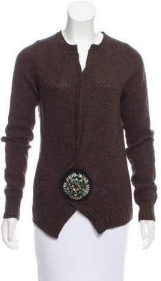 Prada Embellished Wool Sweater
