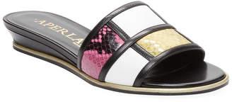 Aperlaï Colorblock Slide Sandal