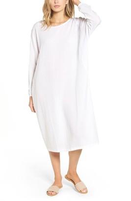 Women's James Perse Cotton Crepe Caftan Dress $265 thestylecure.com