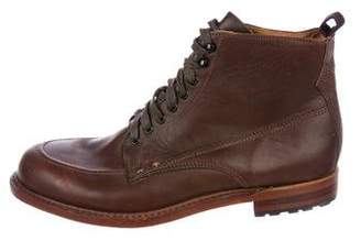 Rag & Bone Leather Combat Boots