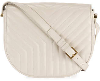 Saint Laurent Quilted Y Satchel Shoulder Bag