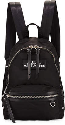 Marc Jacobs Medium Nylon Dual-Zip Backpack Bag