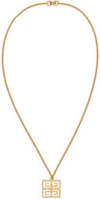 Givenchy Gold 4G Pendant Necklace