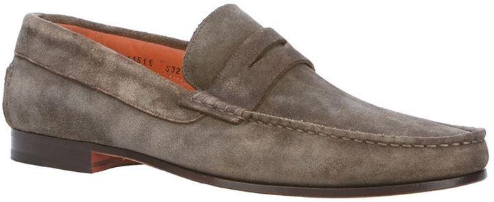 Santoni penny loafer