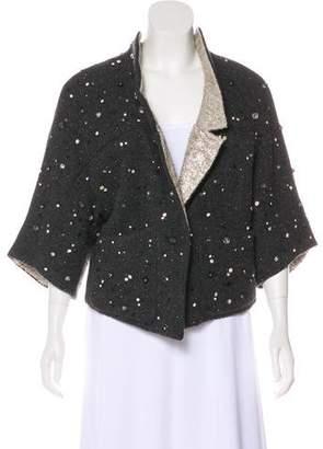 Theyskens' Theory Embellished Wool Jacket