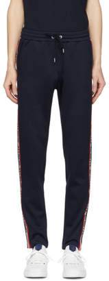 Moncler Blue Side Stripe Lounge Pants