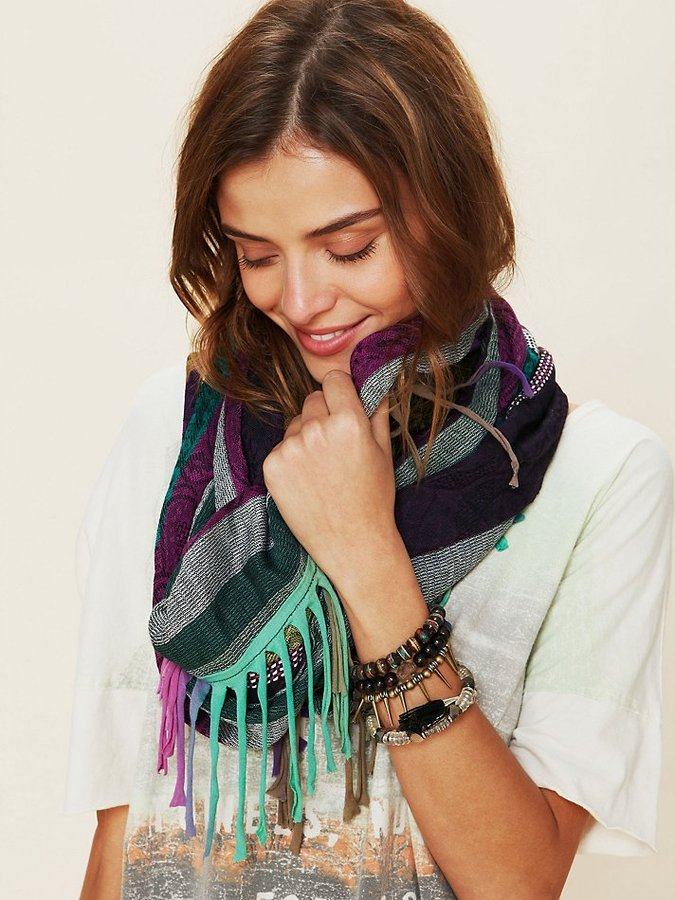 Cut About Fringe Scarf