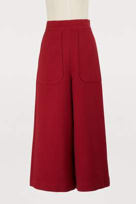 See by Chloe Cotton culottes