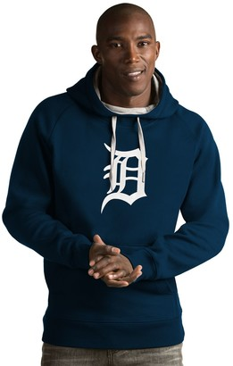 Antigua Men's Detroit Tigers Victory Logo Hoodie