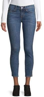 Current/Elliott Current Elliott Skinny-Fit Studded Jeans