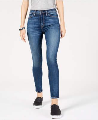 Hudson Jeans Barbara Side-Striped Skinny Jeans