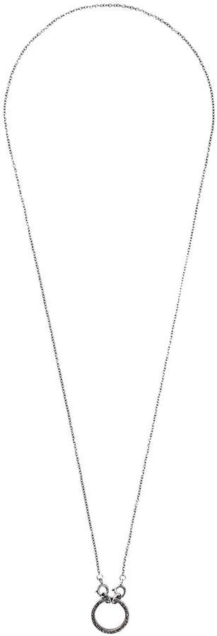 Chin Teo diamond Sail necklace