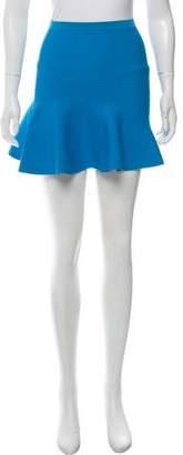 Ohne Titel Flared Mini Skirt