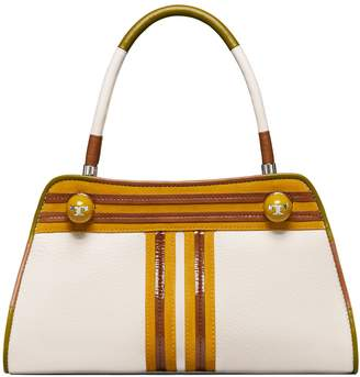 Tory Burch CONTRAST-T SMALL SATCHEL