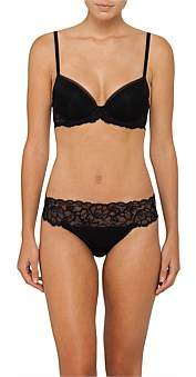 Calvin Klein Seductive Comfort With Lace Demi Lift Bra