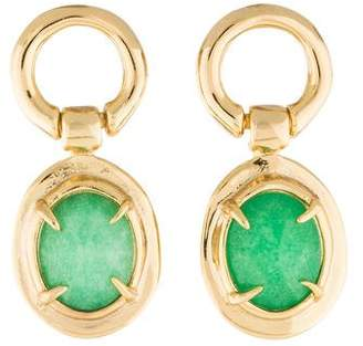 Alexis Bittar Swinging Stone Post Earring
