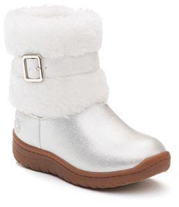 OshKosh B'gosh® Toddler Girls' Glittery Boots $44.99 thestylecure.com