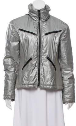 Ralph Lauren Zip-Up Metallic Jacket