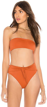 SKYE & staghorn Bandeau Bikini Top