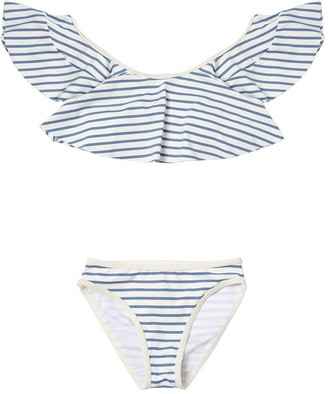 Chloé Striped Lycra Bikini