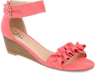 Journee Collection Aveya Wedge Sandal - Women's