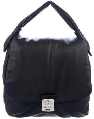 Marc by Marc Jacobs Leather Flap Handle Bag