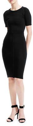 Maje Relationa Slim Fit Midi Dress