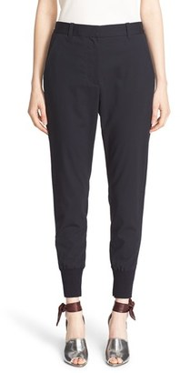 Women's 3.1 Phillip Lim Rib Stripe Jogger Pants $425 thestylecure.com