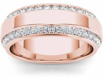 Imperial Diamond Imperial 7/8 Carat T.W. Diamond Men's 14kt Rose Gold Wedding Band