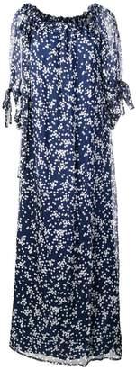 P.A.R.O.S.H. star print maxi dress