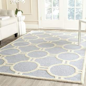 Safavieh Cambridge Collection CAM145A Handmade Wool Area Rug, 8-Feet by 10-Feet