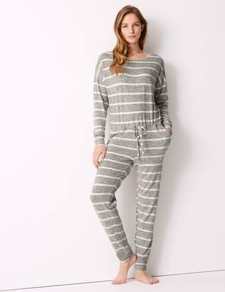 Marks and Spencer Striped Long Sleeve Onesie