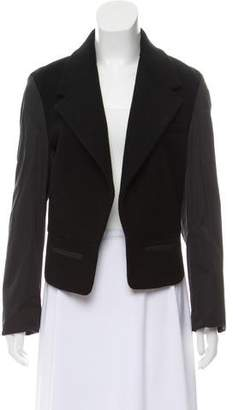 Alexander Wang Wool Exposed Back Blazer