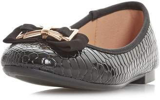 Dorothy Perkins Womens *Head Over Heels By Dune Black Haze Flat Shoes
